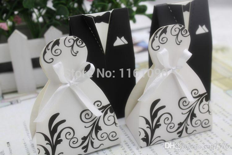 2016 wedding dress favor candy boxes wedding party favor for Wedding dress shipping box