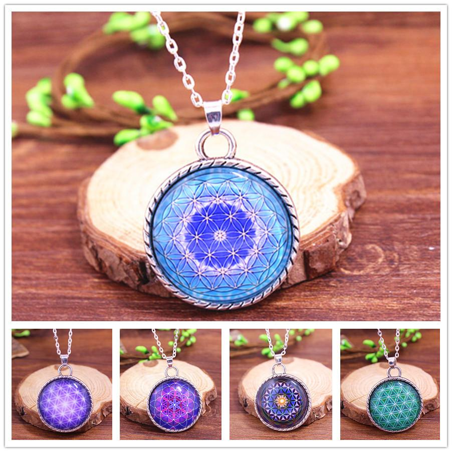 Wholesale 2016 Hot Flower Of Life Spiritual Jewelry