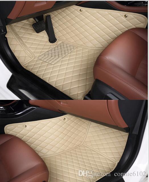 2017 good quality custom special floor mats for for Mercedes benz glc 300 floor mats
