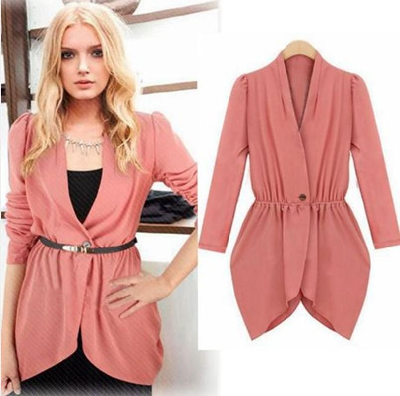 Women Tops Fashionable And Beautiful Lady Suit Jacket Ladies Tops ...