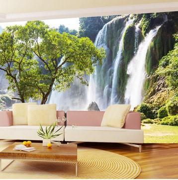 Custom photo wallpaper large 3d living room sofa for 3d nature wallpaper for living room