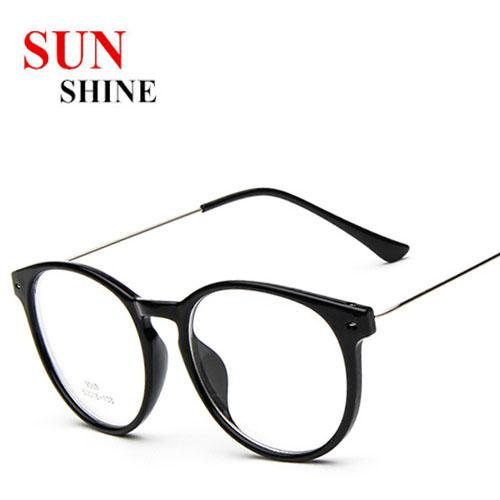 9353 Fashion New Slim Thin Frame Light Women Men Myopia ...