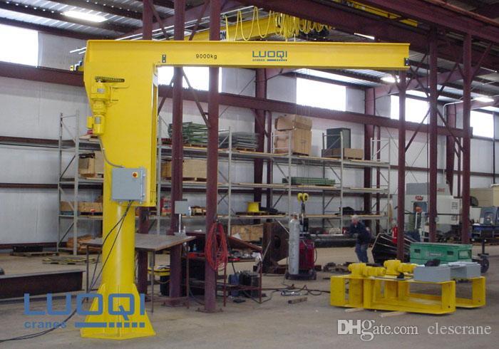 Jib Crane Manufacturers Usa : Cjz series t degree fixed floor mounted jib