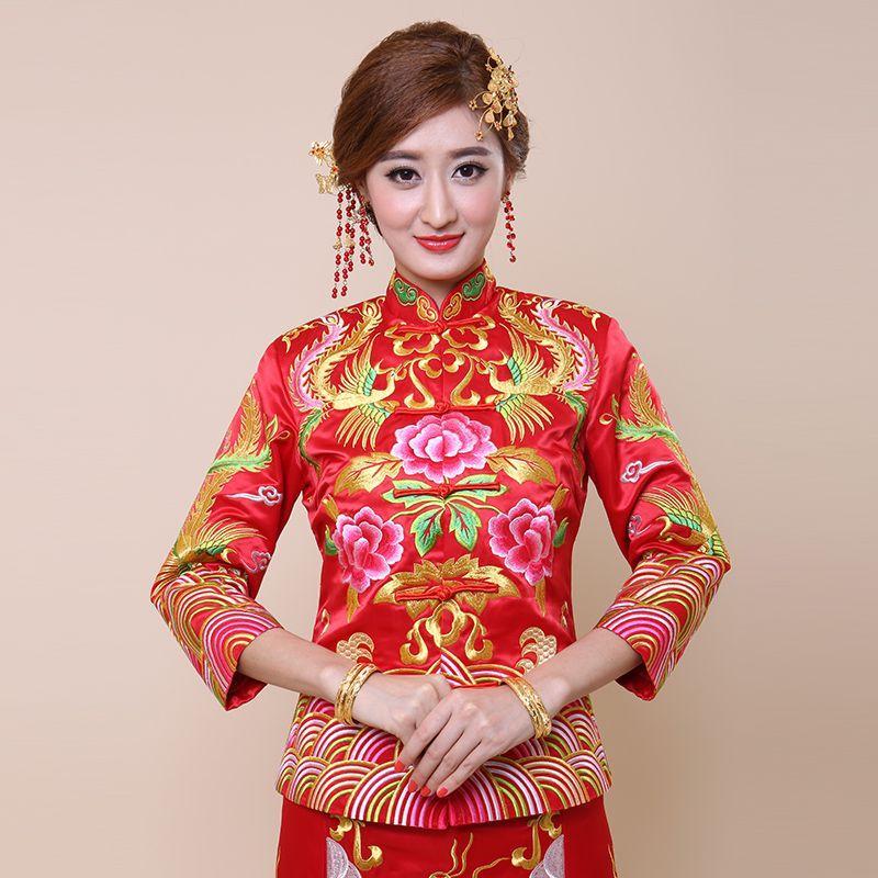 The New Xiu Xiu Kimono Dress Gown Skirt Cheongsam Chinese