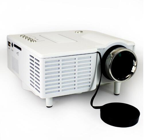 Mini portable projector uc28 with hdmi mini micro av led for Portable projector with hdmi input
