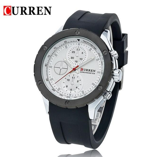 curren men sports watches classic simple analog quartz watch mens curren men sports watches classic simple analog quartz watch mens wristwatches top barnd luxury silicone band