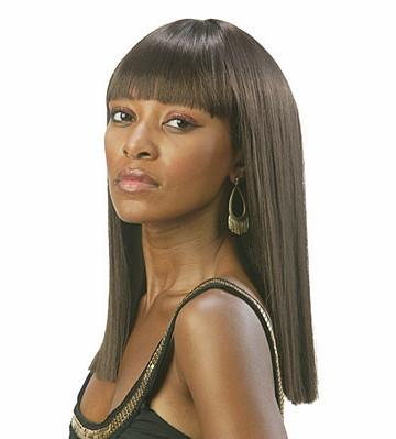 Tremendous Cleopatra39S Hairstyle Synthetic African American Wigs Straight Short Hairstyles For Black Women Fulllsitofus