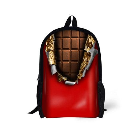 Girls Primary School Bags Kids Backpack Large Capacity Chocolate ...