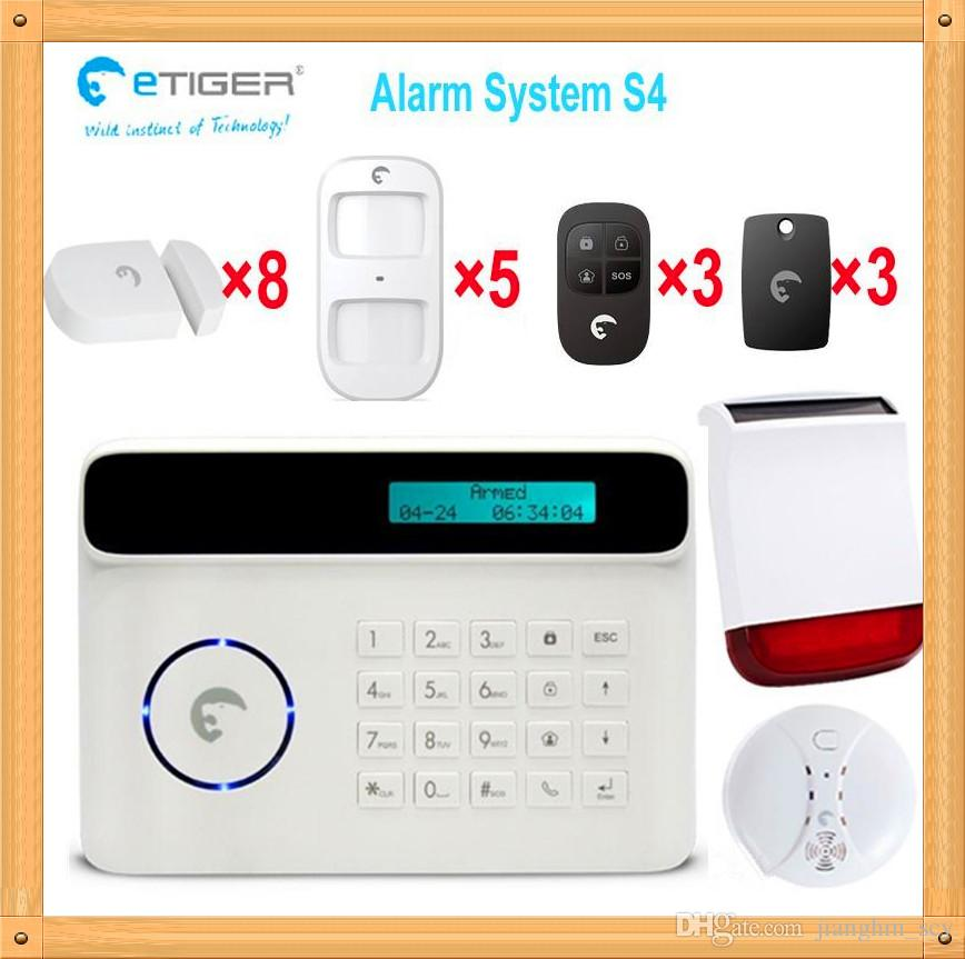 Dhl wireless command nice look alarm system activate for Look security systems