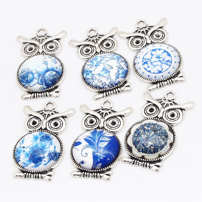 online cheap vintage origami owl charms antique silver