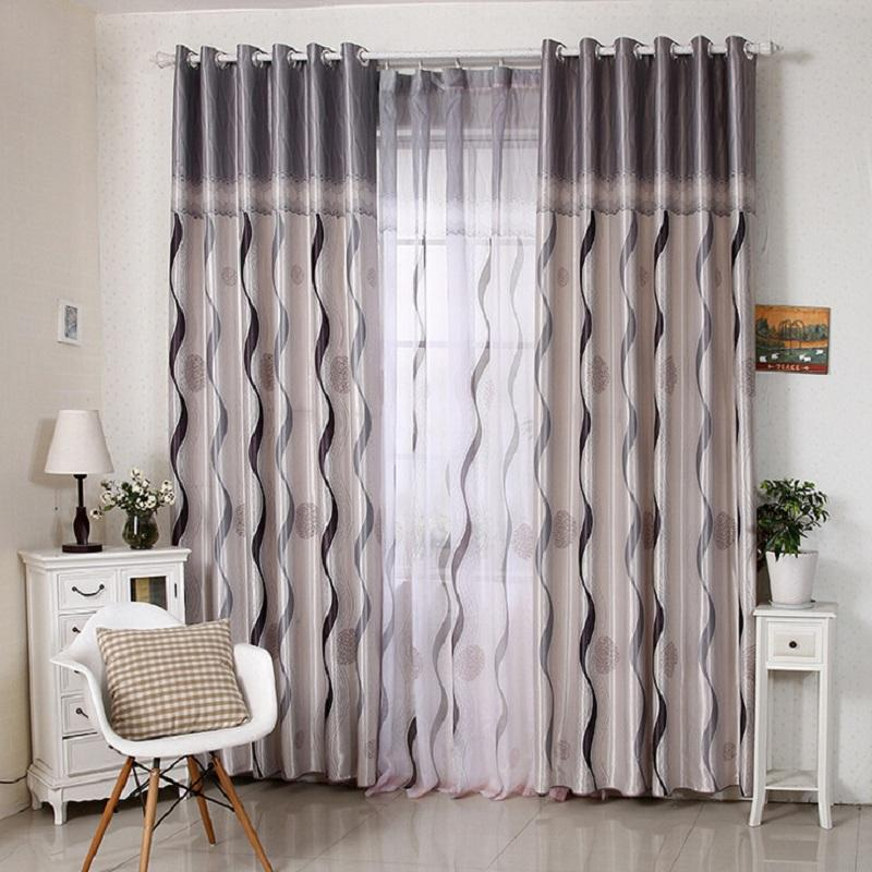 2017 new luxury high quality curtains for living room for B m living room curtains