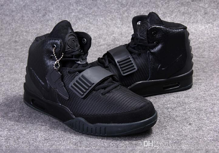 Mens Air Yeezys Black Pink shoes