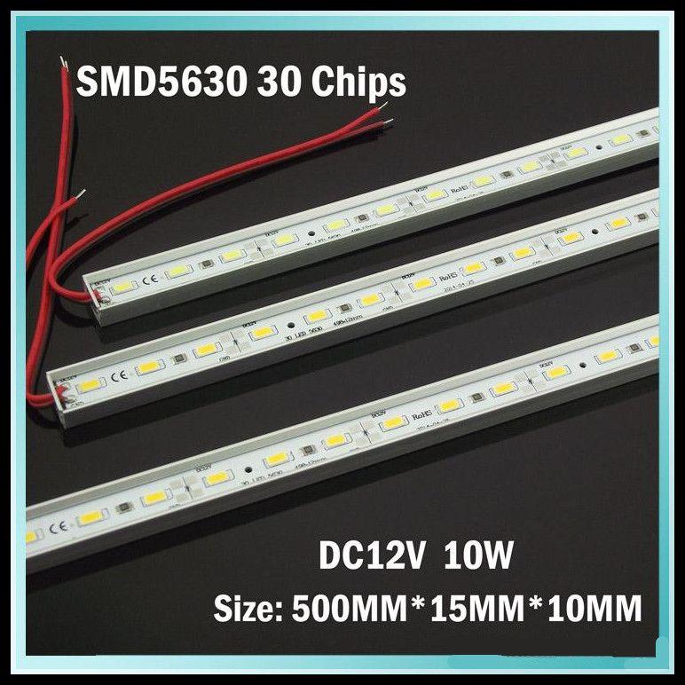 Pcs Smd Led Bar Light 12 Volt Led Strip Lights Simple: 2017 Led Light Bar Dc 12 Volt 5630 Smd 10 Watts Aluminium