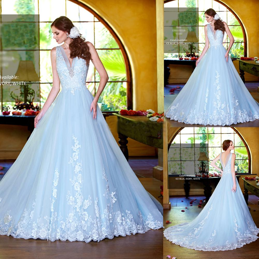 Wedding Dresses Discount Reference Images Organza Beach Bridal Gowns