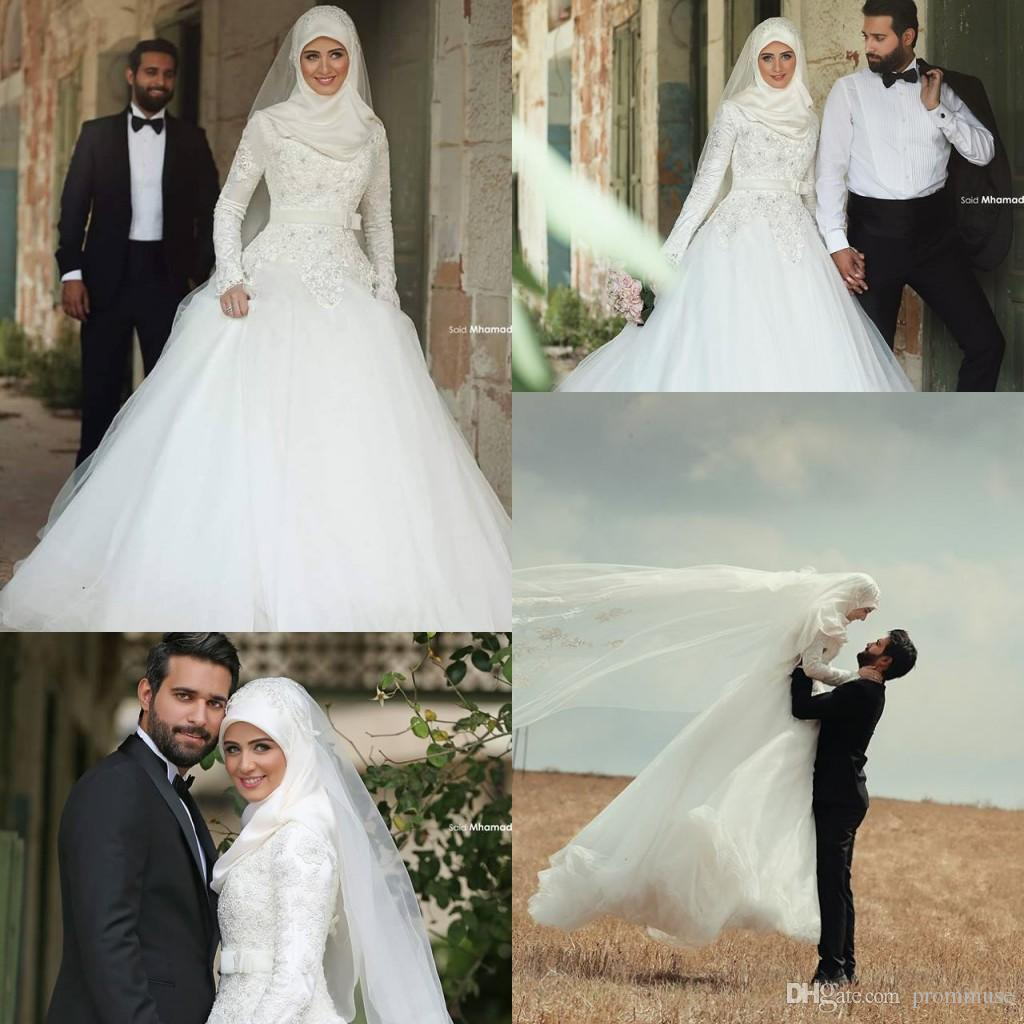 Modest Wedding Dresses Massachusetts : Islamic wedding discount modest dresses