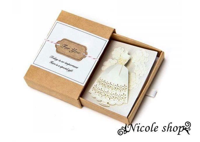 Wedding Cards Invitation A Carousel Mini Birthday Wishes Gift Card – Elegant Wedding Card Boxes
