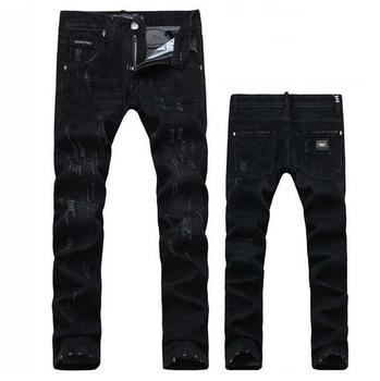 2017 2015 New Fashion Men Denim Jeans Black Brand High Quality ...