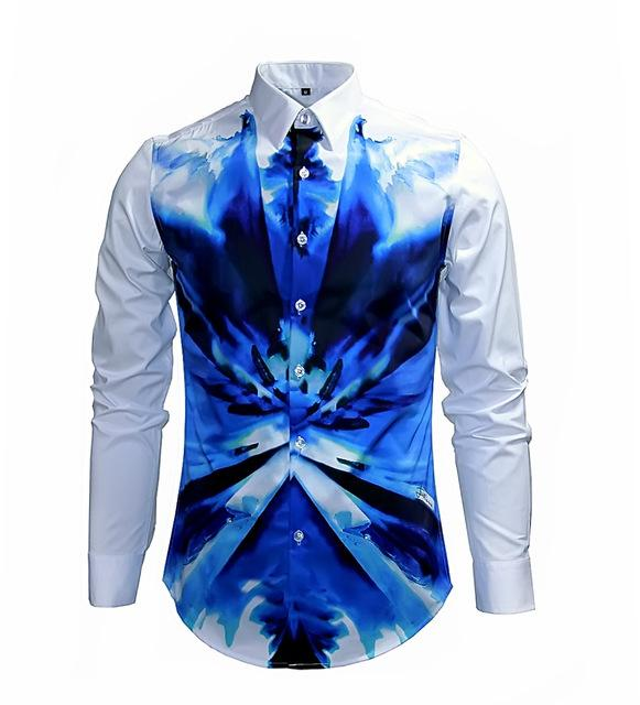 New Arrival Man Shirt Fashion Design Long Sleeve Slim Fit Man ...