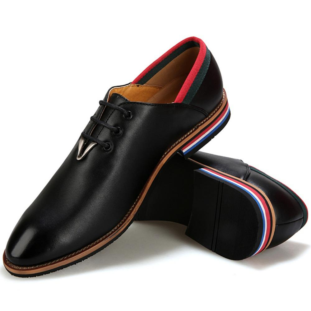 Italian Fashion Men Elegant Stylish Quality Leather Dress Shoes ...