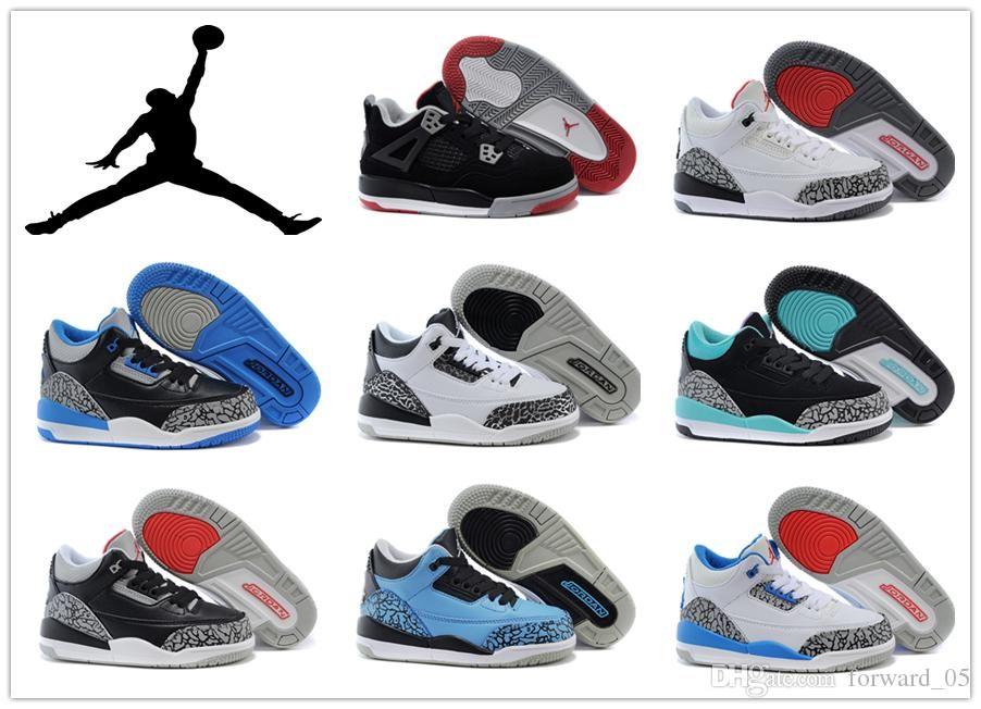 Nike Boys Girls Children'S Athletic Shoes Air Jordan 4 Basketball ...