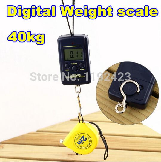 Best high quality 40kg x 20g hanging luggage electronic for Best digital fish scale