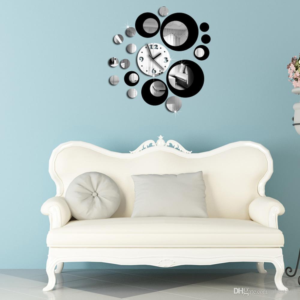 BRICOLAGE-Noir-Rouge-Mur Sticke Autocollants 3D Crystal Effet de ...