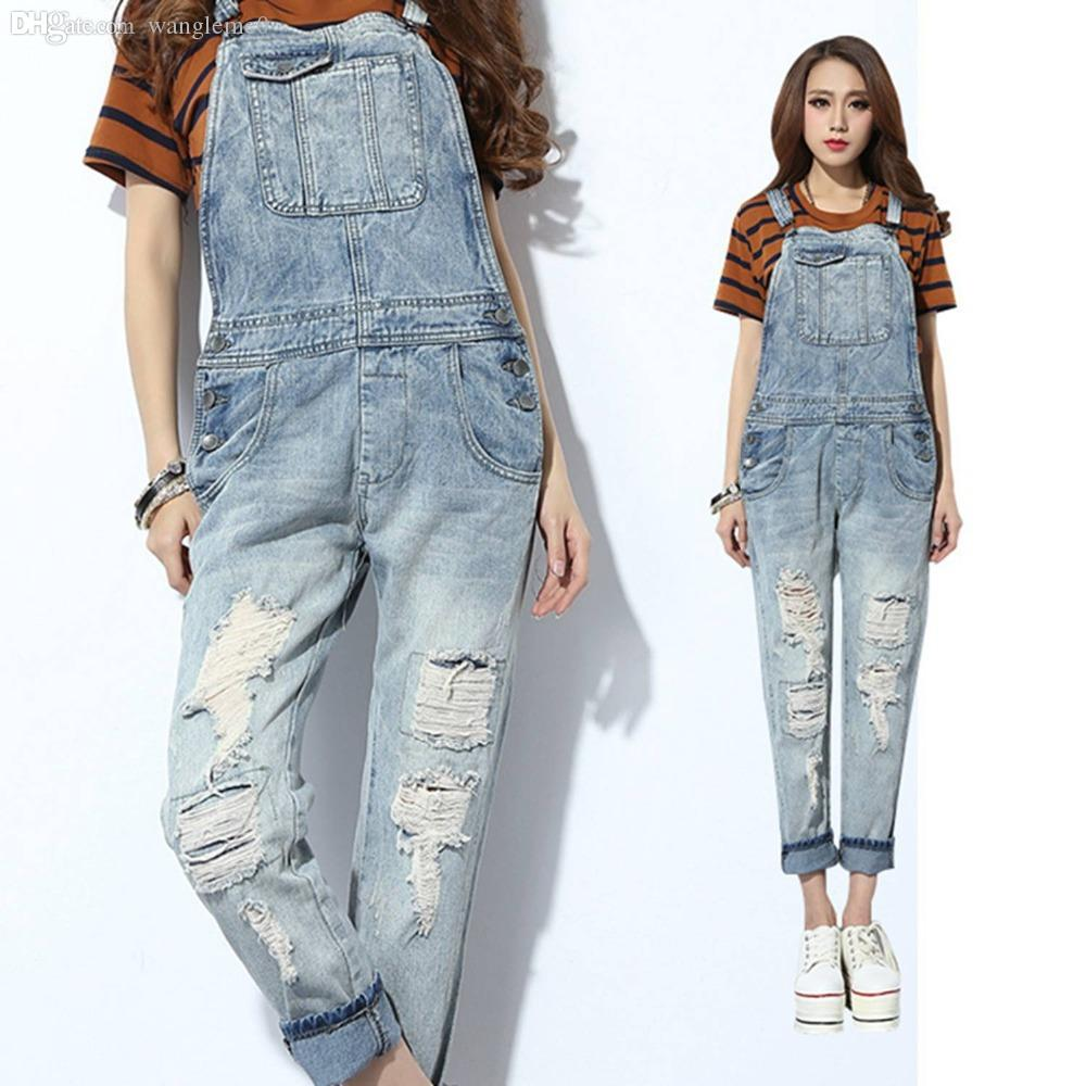 Womens Jean Jumpsuits - Breeze Clothing