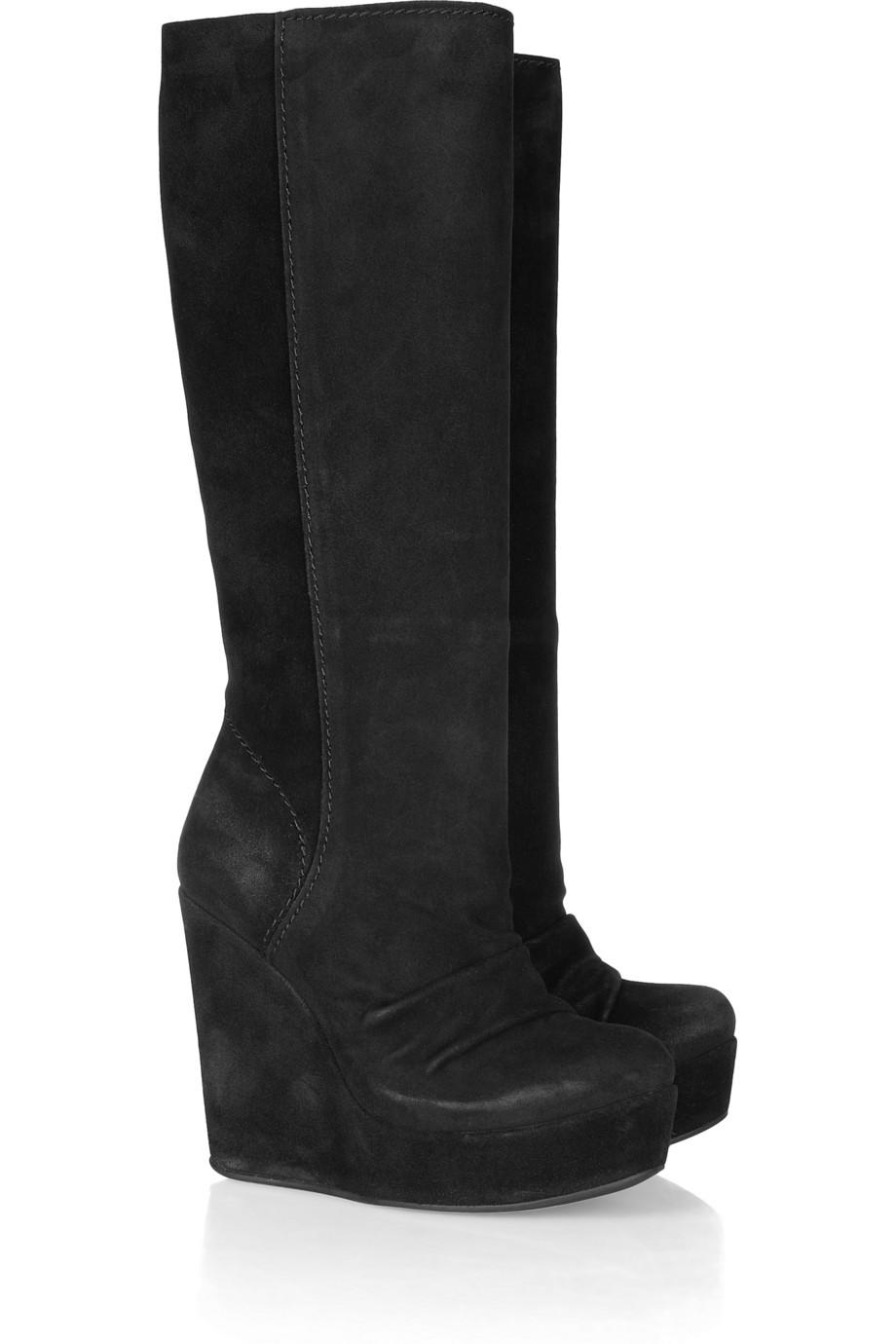 leather wedge boots for women | Gommap Blog