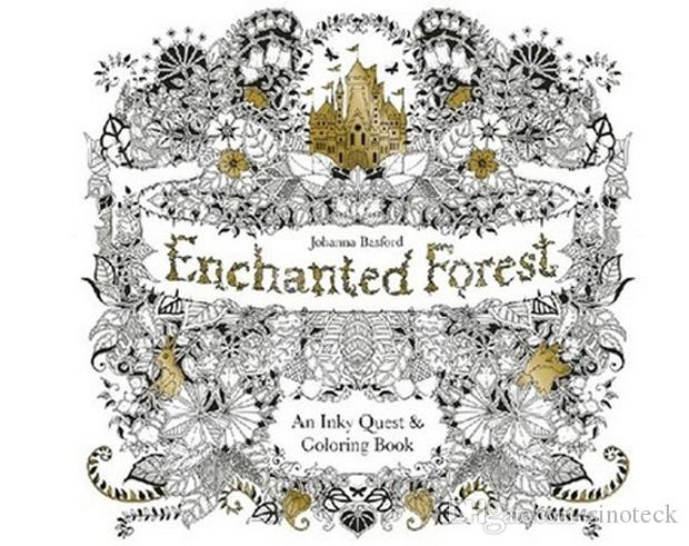 Coloring Books For Adults In Singapore Enchanted Forest Secret Garden An Inky Quest Colouring Book