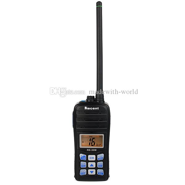 recent rs 35m 70ch vhf lcd float scan waterproof ip67 marine handheld transceiver two way radio. Black Bedroom Furniture Sets. Home Design Ideas