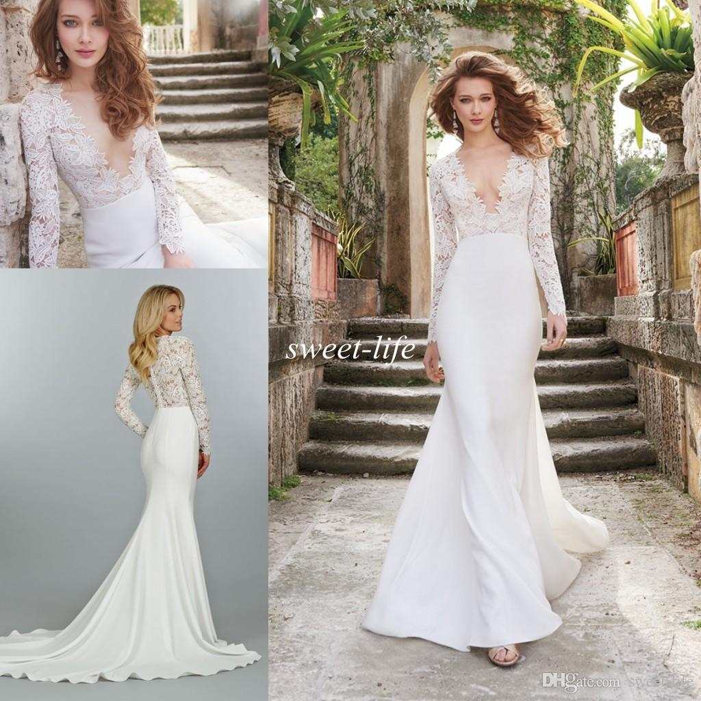 Long Sleeve Wedding Dresses Our Favourite Picks  hitched