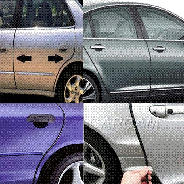car suv door edge guard moulding trim diy protector strip black 40ft 1280cm pvc decoration trim. Black Bedroom Furniture Sets. Home Design Ideas
