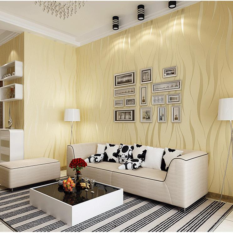 Grey striped wallpaper silver vertical striped wall paper for Grey striped wallpaper living room