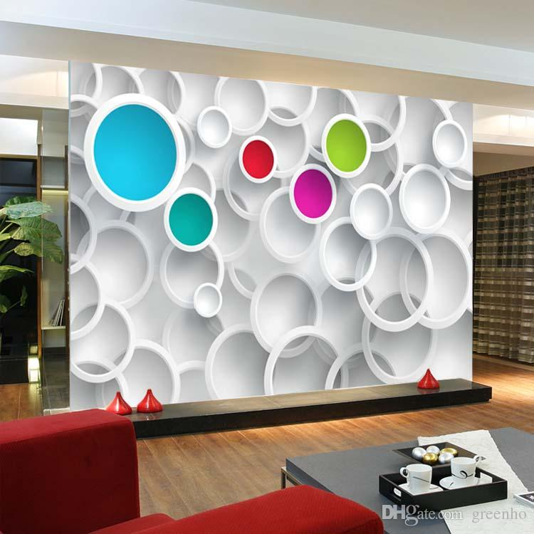 Modern 3d wallpaper personalized custom photo wallpaper for 3d wallpaper for home decoration