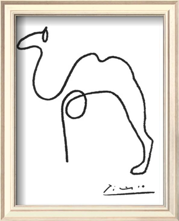 2017 the camel by pablo picasso painting high quality animal abstract art oil painting canvas
