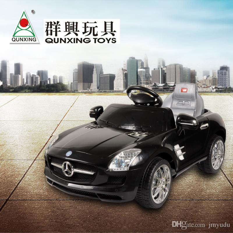 electric car for kids ride on with remote control and music qx7997 car baby children gift