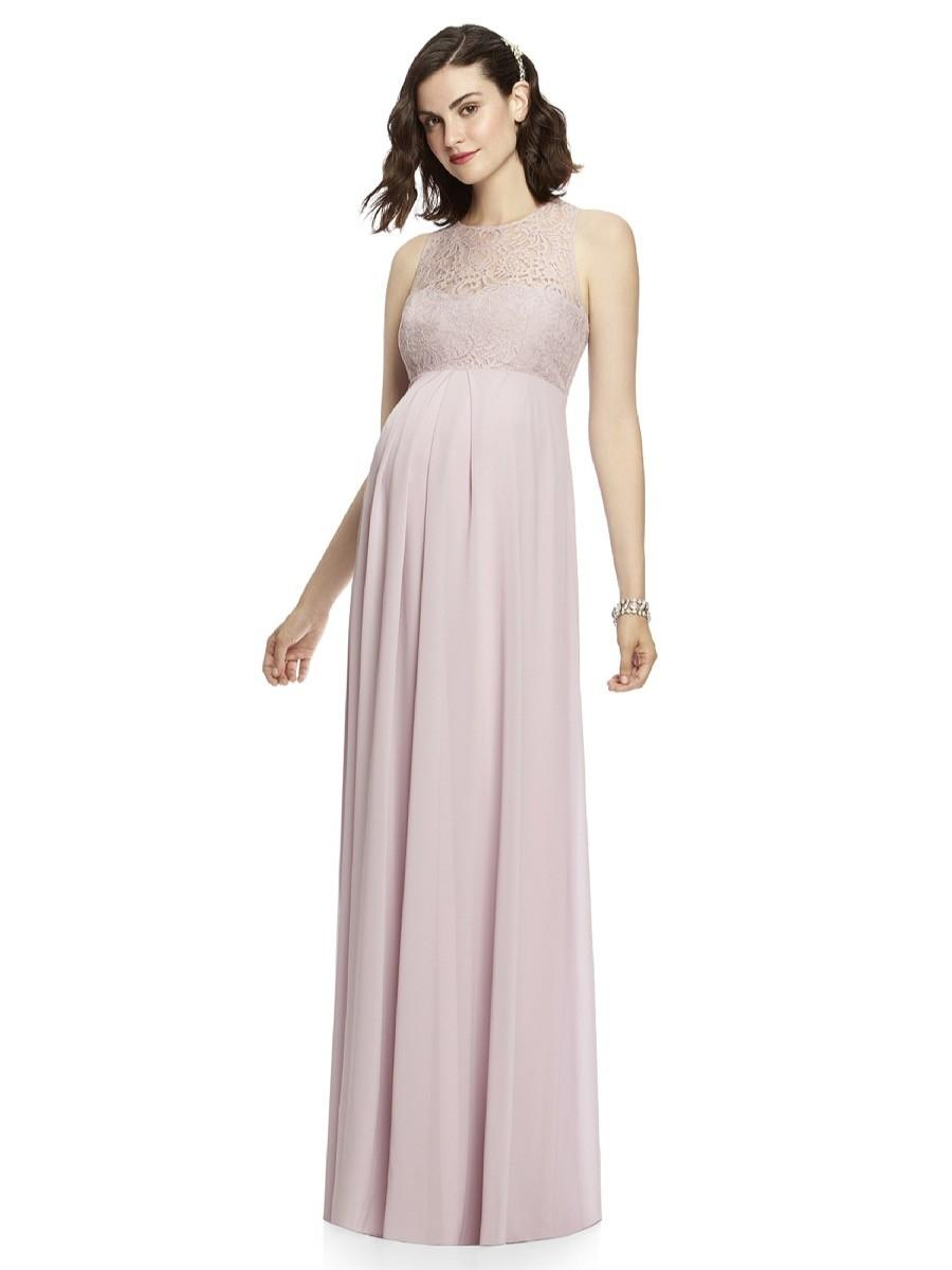 Blush Maternity Wedding Dresses: Dresses bridesmaid dress knee ...