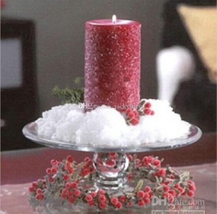 winter wedding theme diy artificial snow flower powder christmas ornament for party decoration kids toys christmas ornament artificial snow flower wedding - Fake Snow Decoration