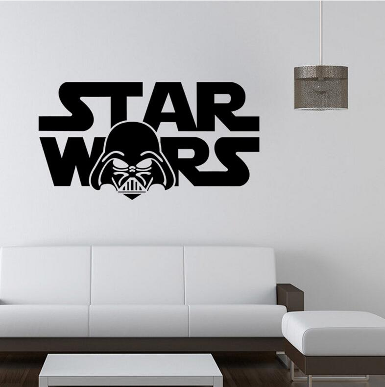 Star wars wall stickers home decor top quality darth vader for Quality home decor