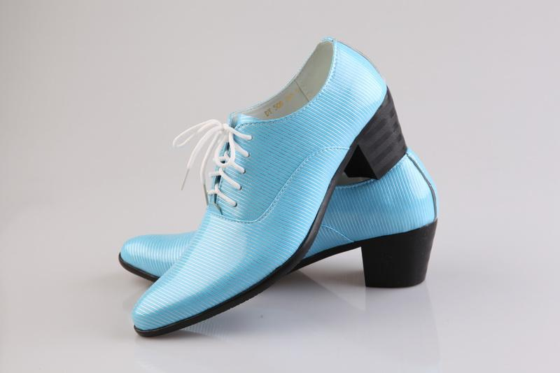 light blue dress shoes cool prom shoes leather groom