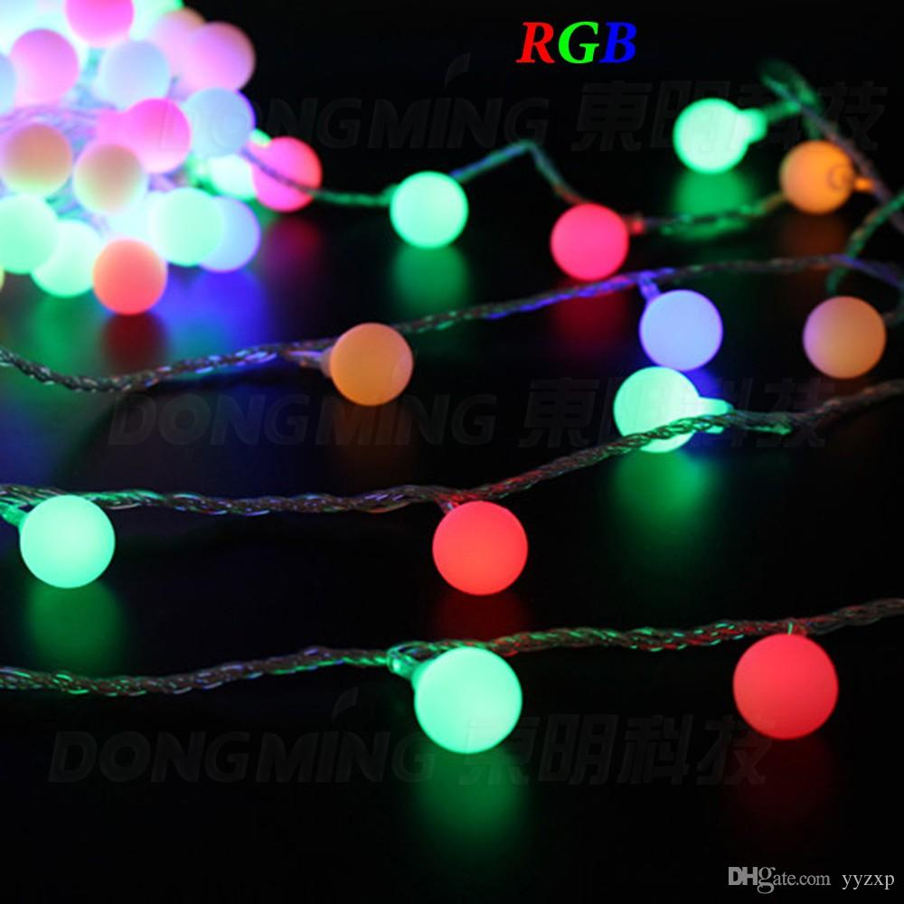 Battery Operated Led Outdoor Christmas Lights: 2015 Christmas lights Ball LED String Lights 3m 30 LED 3*AA Battery Operated  Indoor,Lighting
