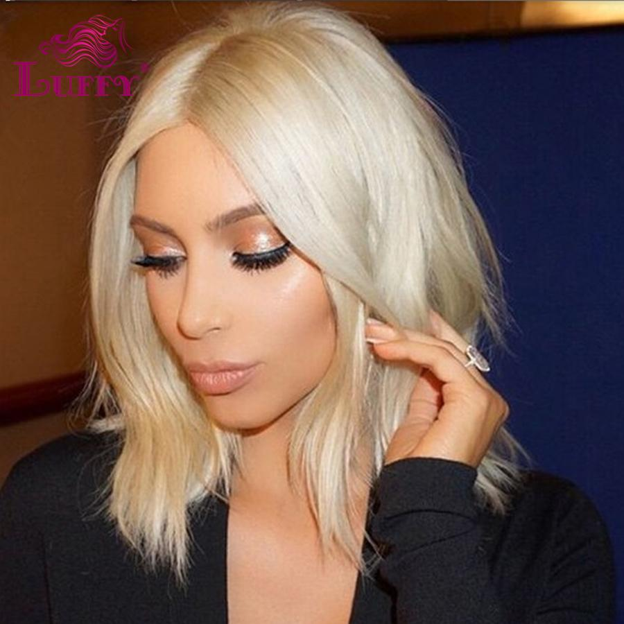 7a Brazilian Virgin Human Hair Lace Front Wig Color 613