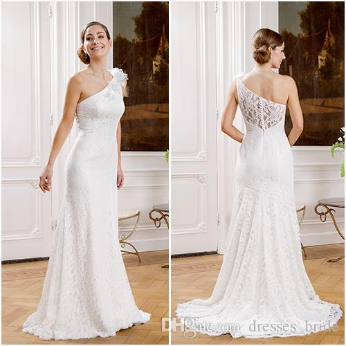 One shoulder dresses cheap all dress for One shoulder wedding dress
