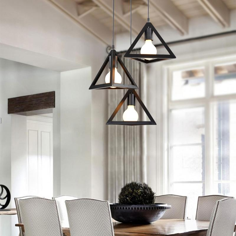 Wrought Iron Pendant Lights For Home Black Bar Pendant Lamp