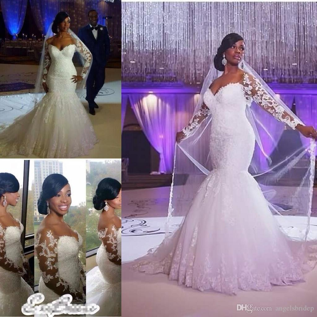 Fabulous And Fitted Plus Size Wedding Dresses With Lace