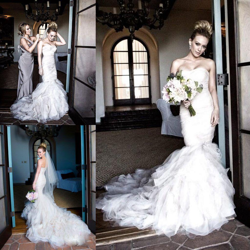 46 Breathtaking Celebrity Brides Their Big Day