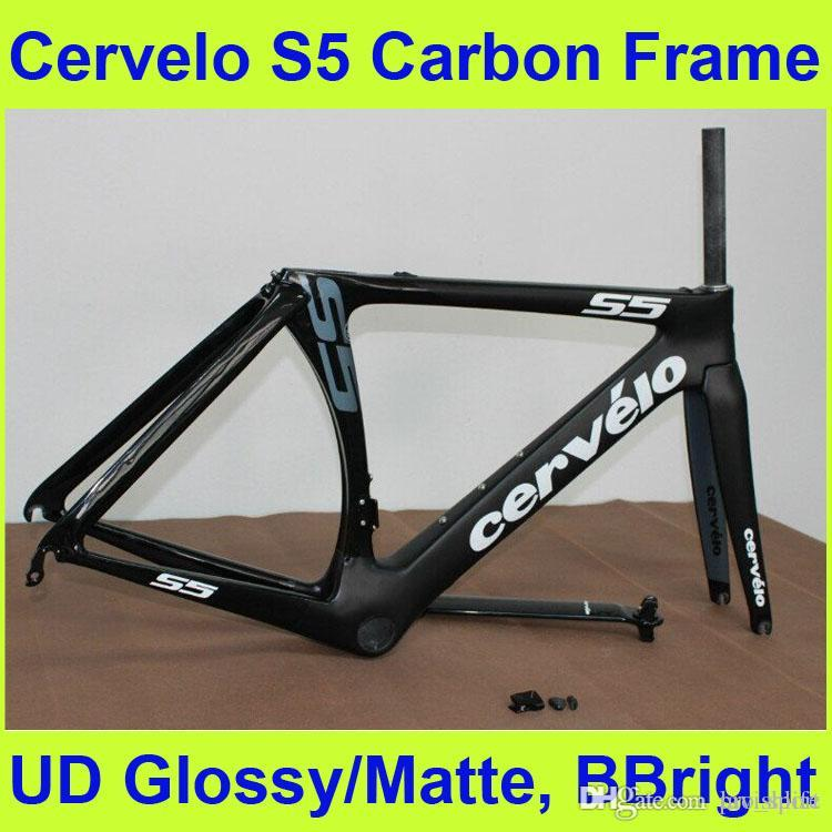2015 Newest Cervelo S5 Carbon Frame UD Glossy\/Matte Finish Carbon ...