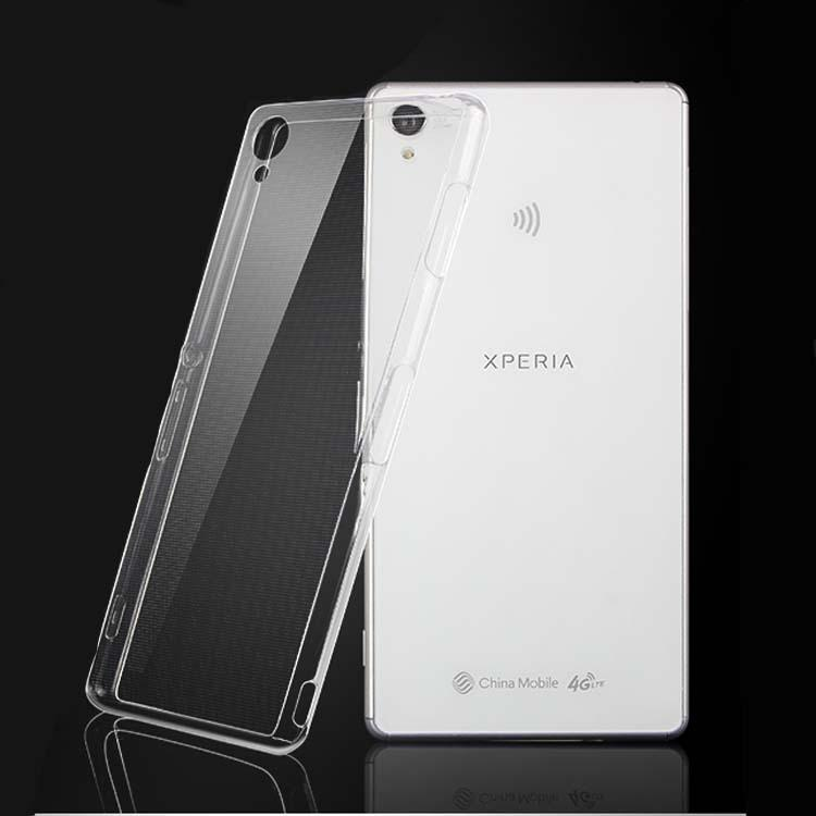 SONY Xperia Z5 Case 0.6MM Slim Transparent TPU Cases Cover Mobile ...