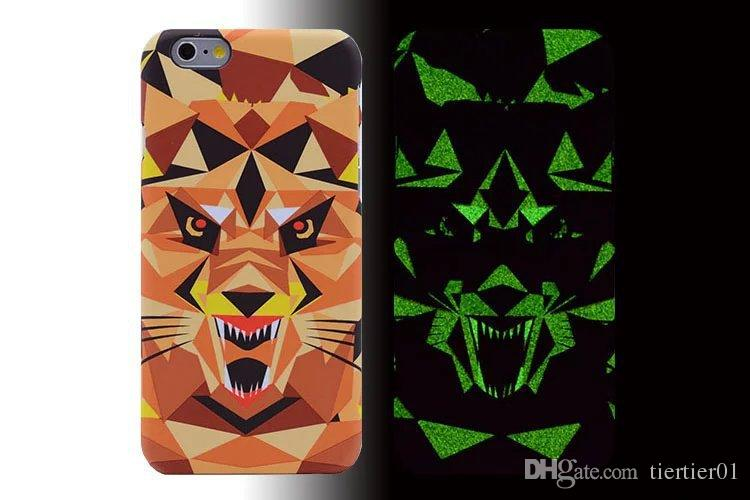 2016 new Fluorescent PC material Animal Iphone case for Iphone6/6s 4.7inch