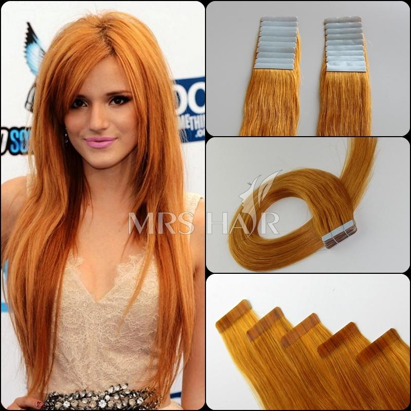 Hair Extensions Orange 65